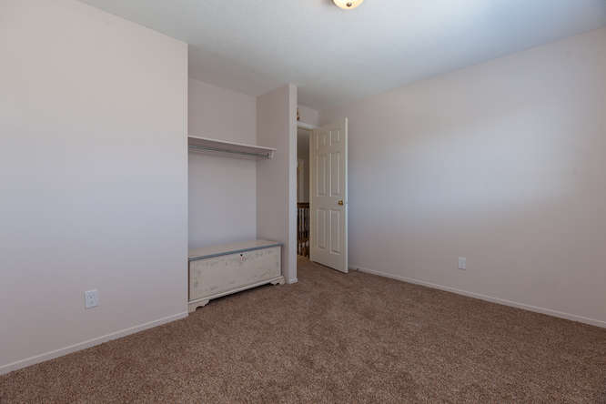 1 of 4 very spacious bedrooms located on the second level