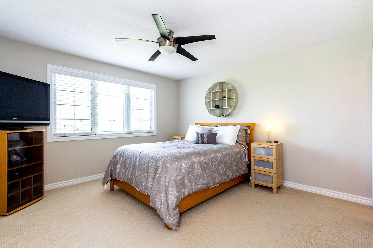 Spacious Master Bedroom with Large Walkin Closet and Stunning Ensuite