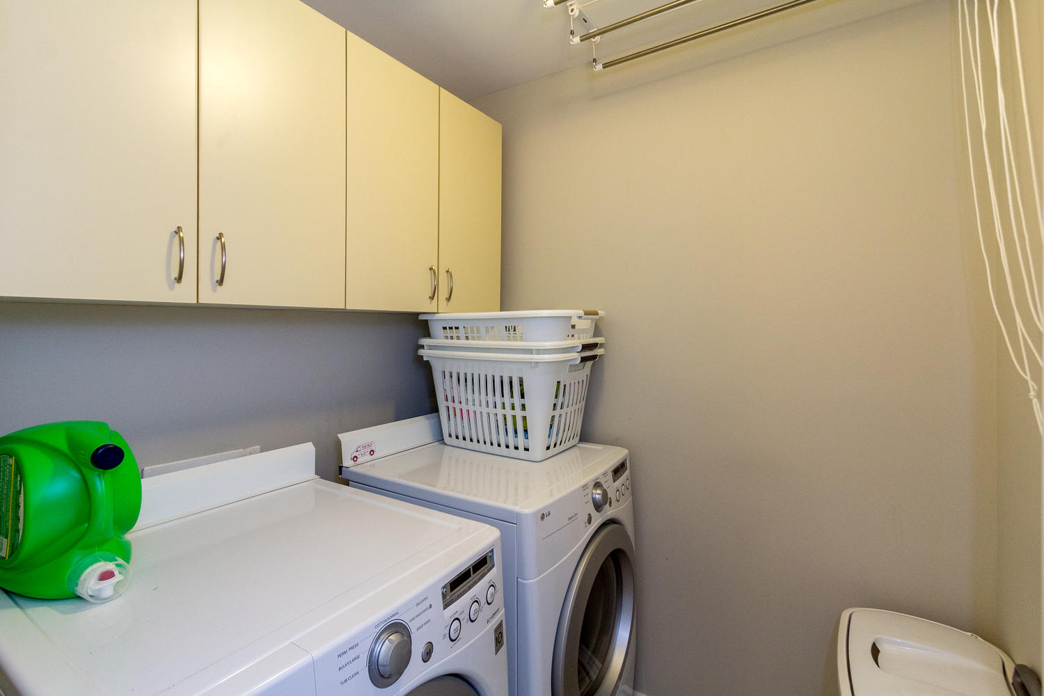 Very spacious second floor laundry room