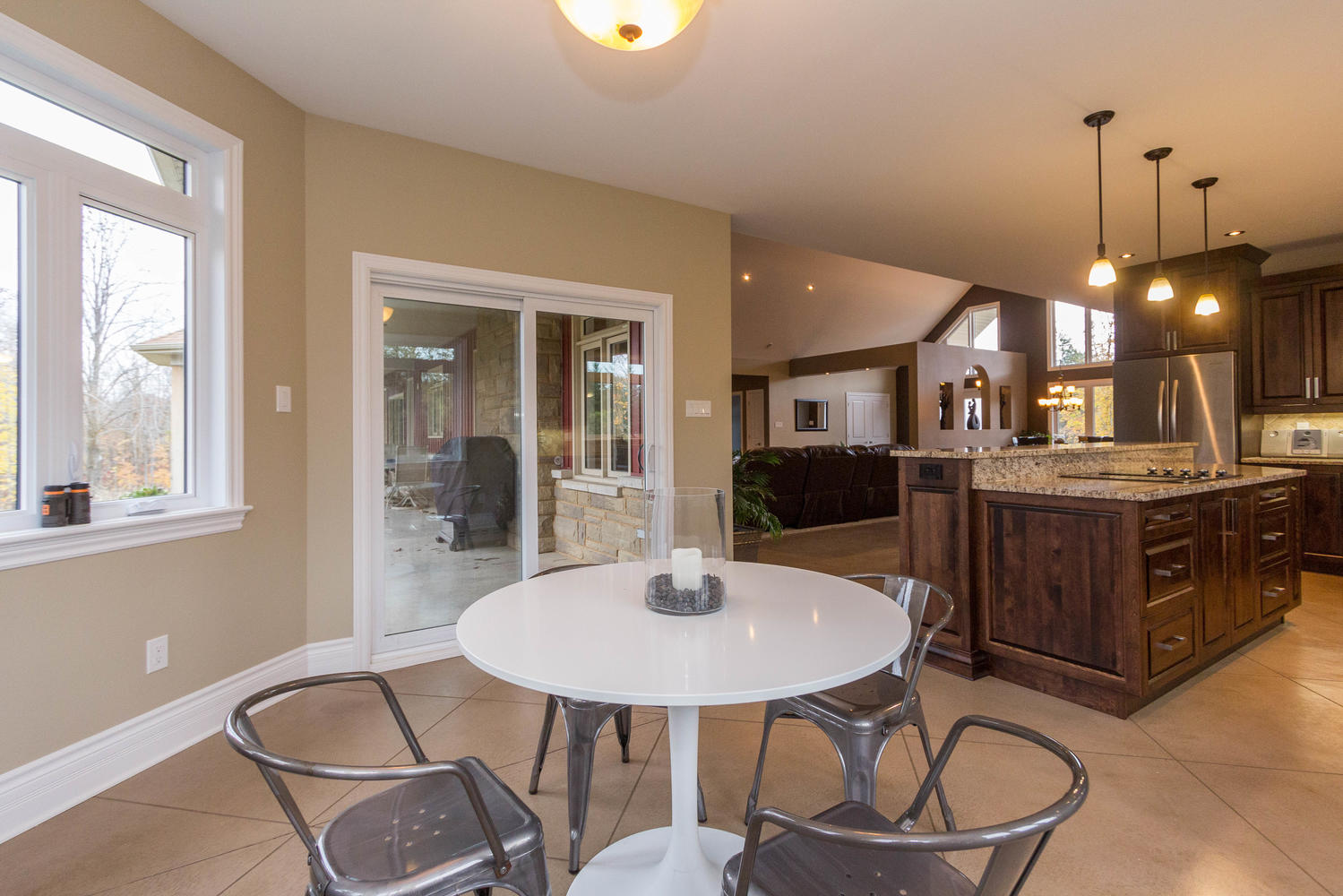 MASSIVE eating area.  Loads of large windows, a great space for your family and friends to enjoy.