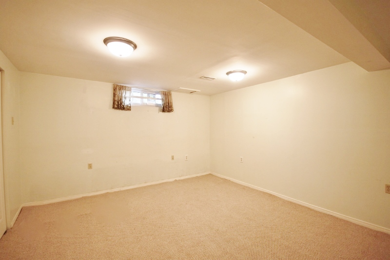 2 Large closets with lighting, a large living space, this could be a great family room or 4th bedroom.
