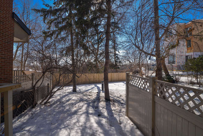 Good luck finding a backyard like this anywhere near this location for this price!