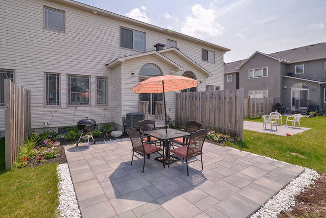 Gorgeous patio area for summer BBQ's