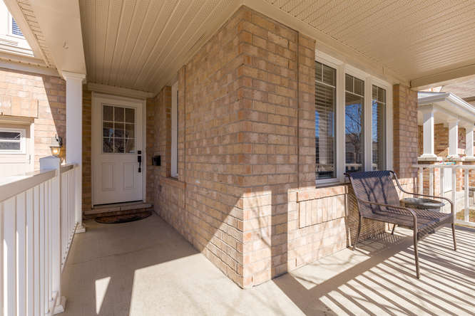 Large covered front porch.