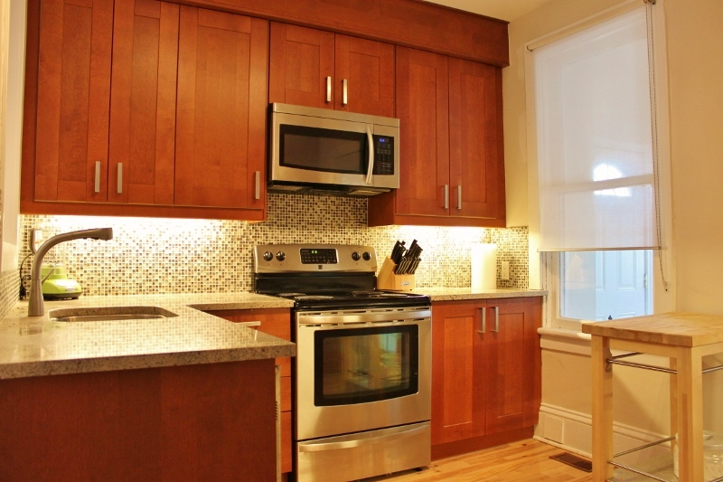 Redone in 2012 with Granit Countertops, and Stainless Steel Appliances