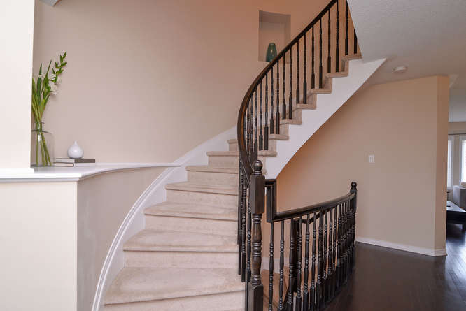 Beautiful Staircase with some ledges to add your own personal touch
