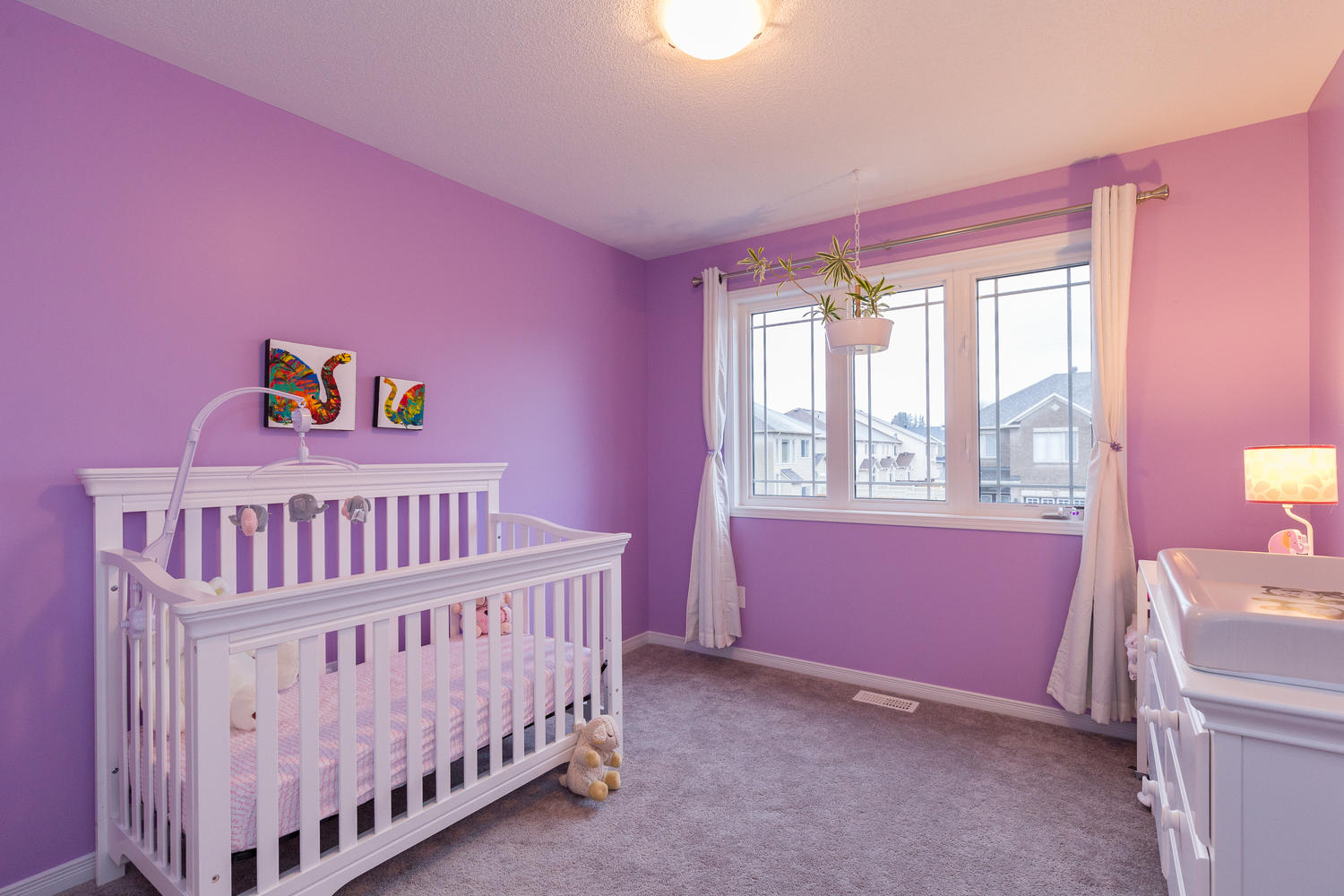 Third bedroom, currently used as a nursery.