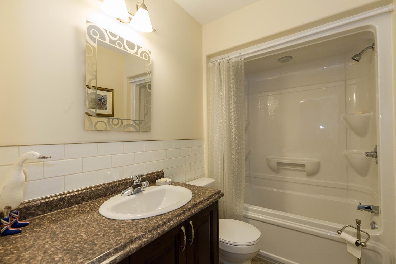 Bright and clean main floor bathroom.