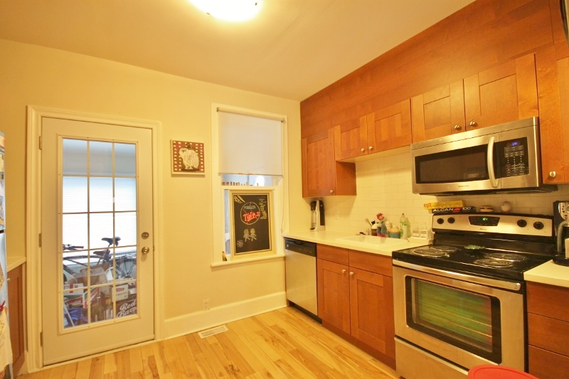 Updated kitchen with stainless steel appliance in 109
