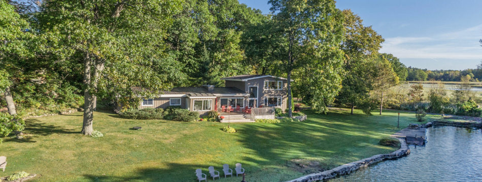 Photo of 65 ROSE ISLAND LANE – Stunning 4 Bed, 4 Bath Home, Over an Acre of Exceptional Waterfront.