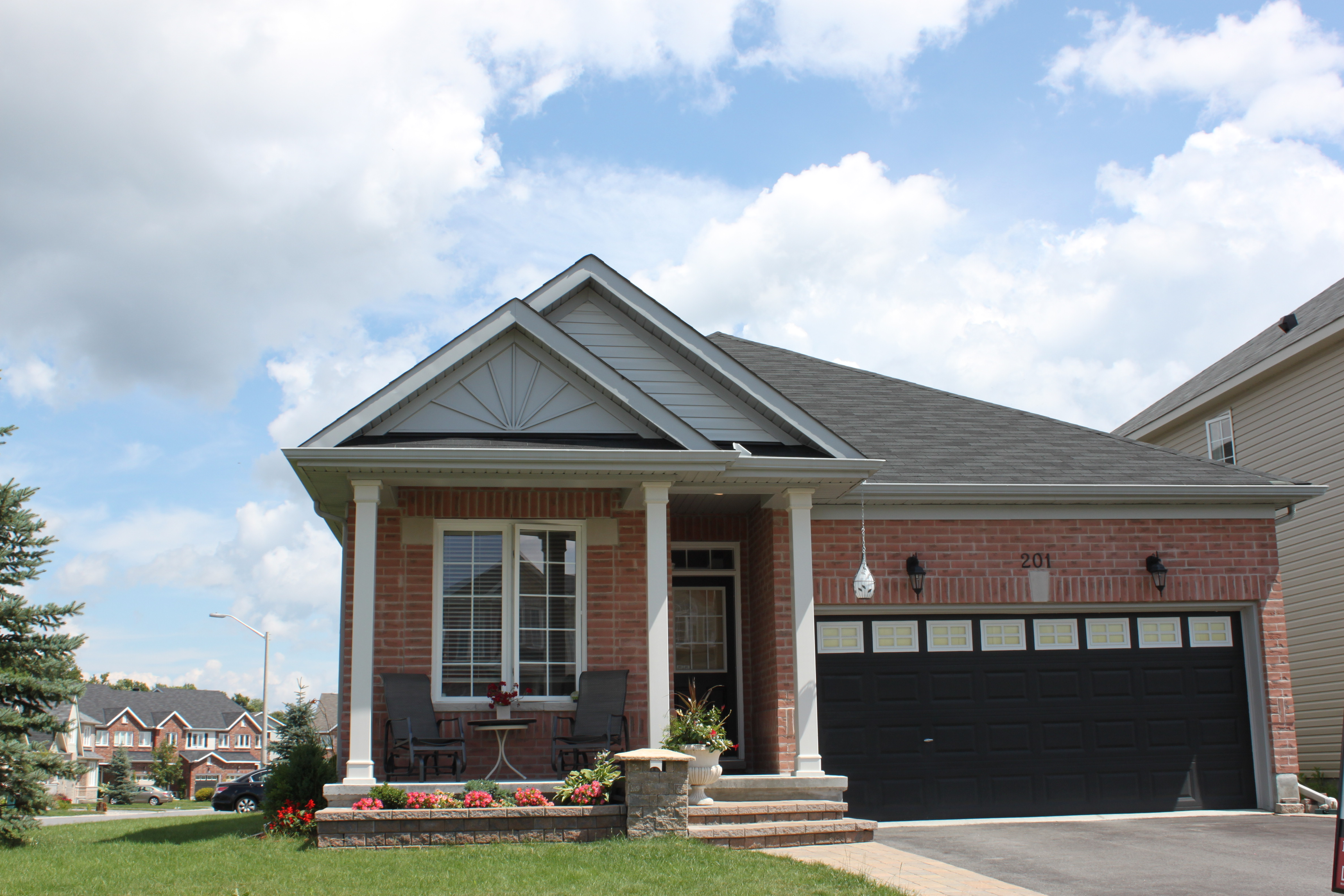 A Stunning all brick bungalow on a large corner lot in a beautiful neighborhood.  Spacious 2 car garage and oversized driveway.  Can fit your toys and your vehicles.