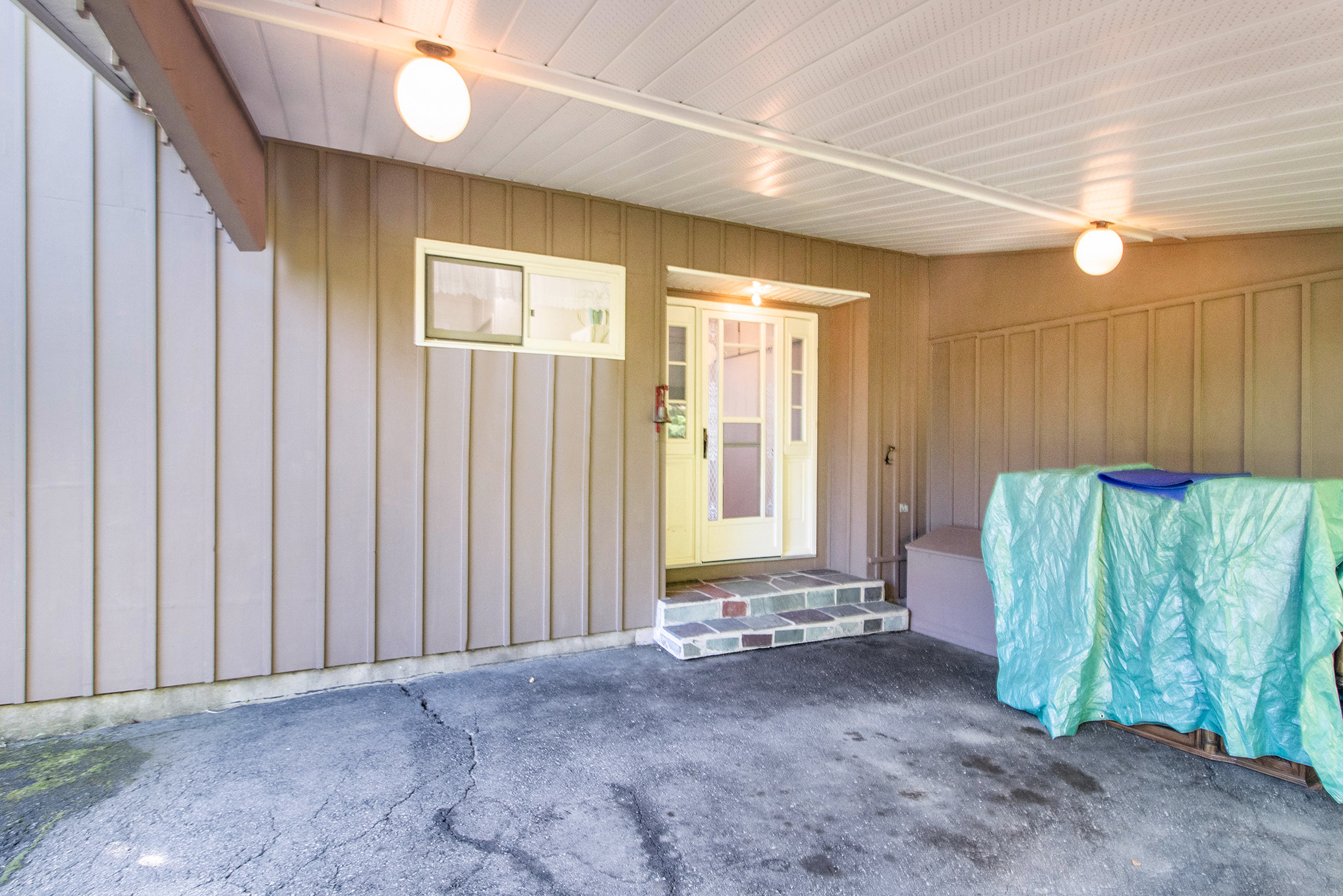 Spacious Carport and parking for at least 9 more vehicles, this is a great spot for those large get togethers.