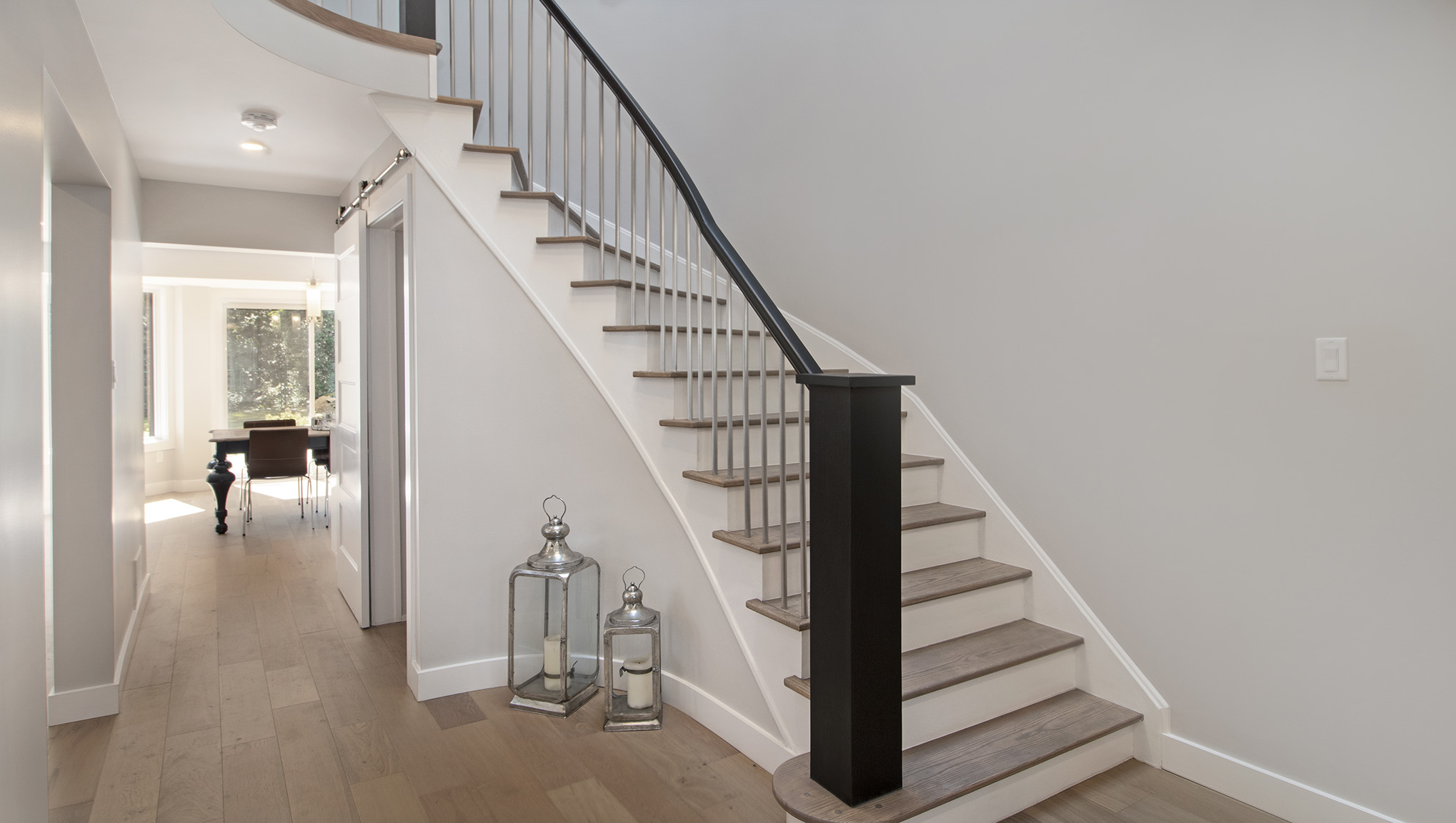 Custom Handrail and spindles