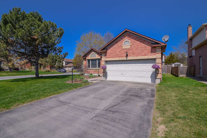 Welcome to 1 Rosethorn.  A tastefully updated 3 bedroom 3 bathroom split level home on a large corner lot.