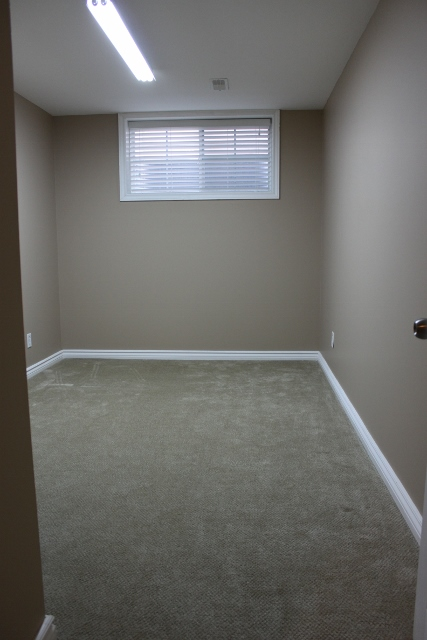 Good sized spare bedroom in the lower level.